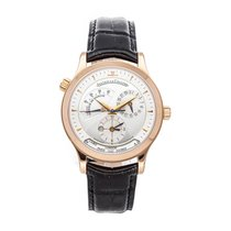 Jaeger-LeCoultre Master Geographic Rose gold 38mm Silver No numerals United States of America, Pennsylvania, Bala Cynwyd