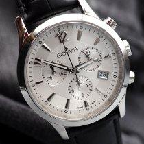 Grovana Steel 39mm Quartz Grovana – Classic Chronograph – Swiss Made - 1209.9532 new