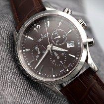 Grovana Traditional ny 2018 Kvarts Kronograf Klokke med original eske og originale dokumenter Grovana – Classic Chronograph – Swiss Made - 1209.9536