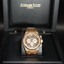 Audemars Piguet 26331OR.OO.D821CR.01 Or rose 2020 Royal Oak Chronograph 41mm nouveau