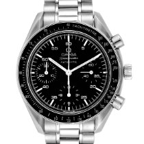 Omega Speedmaster Reduced pre-owned 39mm Black Chronograph Steel
