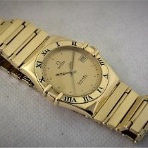 Omega Constellation Yellow gold 38mm Gold Roman numerals