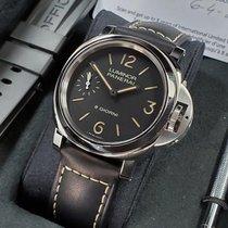 Panerai Luminor Base 8 Days nuevo 2020 Cuerda manual Reloj con estuche y documentos originales PAM 00915
