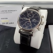 IWC Portofino Chronograph new 2020 Automatic Chronograph Watch with original box and original papers IW391008