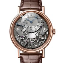 Breguet new Automatic Skeletonized 40mm Rose gold Sapphire crystal
