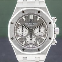 Audemars Piguet Royal Oak Chronograph Stahl 38mm Grau Arabisch