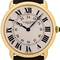 Cartier Yellow gold 33mm Manual winding Ronde Louis Cartier pre-owned