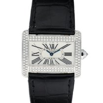 Cartier Tank Divan White gold 31mm Silver United States of America, New York, New York