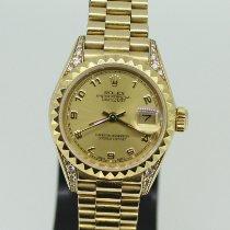 Rolex Lady-Datejust nuevo 1991 Automático Reloj con estuche y documentos originales 69188