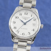Longines Master Collection Zeljezo 36mm Srebro