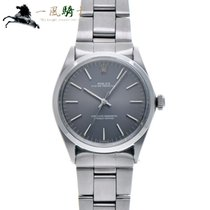 Rolex Oyster Perpetual 34 Stal 34mm Szary