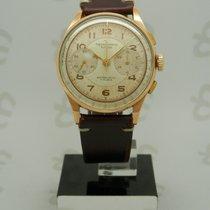 Chronographe Suisse Cie Κίτρινο χρυσό 37mm Χειροκίνητη εκκαθάριση Chronographe Suisse Vintage Gold 18k μεταχειρισμένο