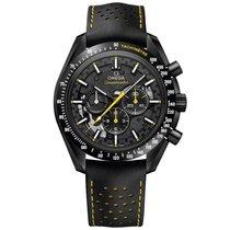 Omega Cerámica Cuerda manual Negro Sin cifras 44.25mm nuevo Speedmaster Professional Moonwatch