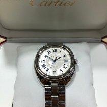 Cartier Clé de Cartier Acier 40mm Argent Romains
