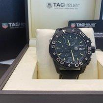 TAG Heuer Titanium Automatic Black 44mm pre-owned Aquaracer 500M