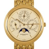 Vacheron Constantin Patrimony Yellow gold 36mm Champagne