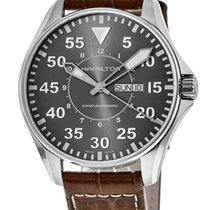 Hamilton Khaki Pilot 46mm Grey United States of America, New York, Brooklyn