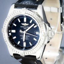 Breitling Callisto Steel 34mm Black No numerals