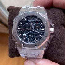 Audemars Piguet Royal Oak Dual Time 26120ST.OO.1220ST.03 Ubrukt Stål 39mm Automatisk