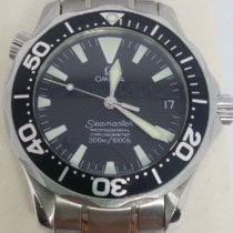 Omega Seamaster Diver 300 M pre-owned 36mm Black Date Steel