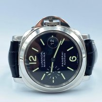 Panerai Luminor Marina Automatic Acier 44mm Noir Arabes
