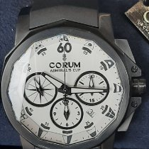 Corum Admiral's Cup Challenger Acero 44mm Blanco Sin cifras