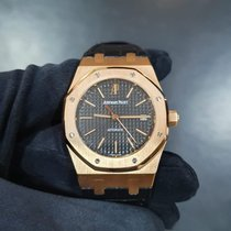 Audemars Piguet 15300OR.OO.D002CR.01 Rose gold Royal Oak Selfwinding 39mm pre-owned