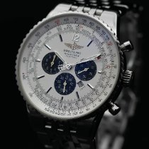 Breitling Navitimer Heritage Steel 43mm White No numerals United States of America, New Jersey, Long Branch