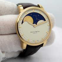 Arnold & Son HM Perpetual Moon Rose gold 42mm Champagne United States of America, Florida, Orlando