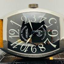 Franck Muller Casablanca Steel 39mm Black Arabic numerals