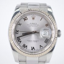 Rolex Datejust Steel 36mm Silver United Kingdom, St Albans Hertfordshire