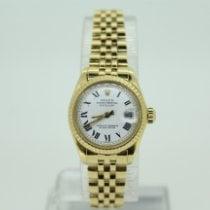 Rolex Lady-Datejust Oro amarillo 26mm Blanco Romanos España, Torrelavega