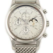 Breitling Transocean Chronograph 1461 Steel 43mm Silver No numerals United States of America, Florida, Hollywood