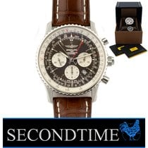 Breitling Navitimer Rattrapante Steel 45mm Brown United States of America, Florida, Hollywood