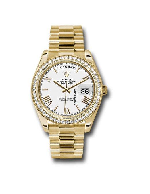 Rolex Day-Date 40 228348RBR новые