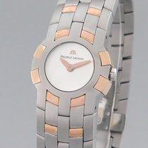 Maurice Lacroix Damenuhr Quarz gebraucht Uhr mit Original-Box und Original-Papieren 2002