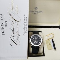 Patek Philippe Aquanaut Steel 40.8mm Black Arabic numerals United States of America, New York, NY