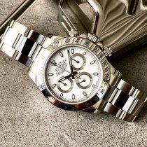 Rolex Daytona Acier 40mm Blanc Sans chiffres France, Caen