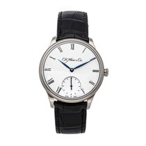 H.Moser & Cie. Or blanc 39mm Remontage manuel 2327-0200 occasion