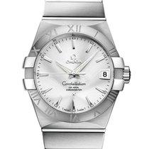 Omega Constellation Men nuevo 2020 Automático Reloj con estuche y documentos originales 123.10.38.21.02.001