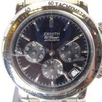 Zenith El Primero Chronograph Stahl 40mm Schwarz Deutschland, Krefeld