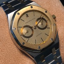Audemars Piguet Royal Oak Day-Date Gold/Steel 36mm Champagne No numerals