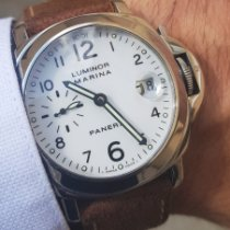 Panerai Luminor Marina Automatic Acier 40mm Blanc Arabes France, LYON - Tassin La Demi Lune