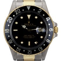 Rolex GMT-Master Gold/Steel 40mm Black