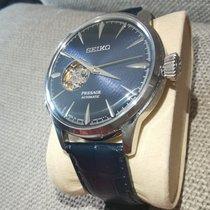 Seiko Presage Acier 40.5mm Bleu Sans chiffres