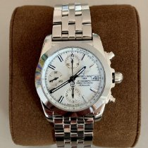 Breitling Chronomat 38 Steel 38mm White No numerals