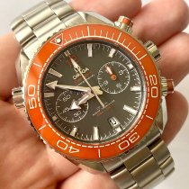 Omega Seamaster Planet Ocean Chronograph Staal 45.5mm Grijs
