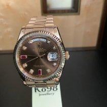 Rolex Day-Date 36 Roségold 36mm Braun Deutschland, Düsseldorf
