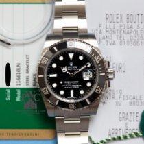 Rolex Submariner Date Acciaio 40mm Nero Senza numeri Italia, Milano