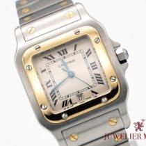Cartier Santos Galbée Gold/Stahl 29mm Weiß Römisch Deutschland, München